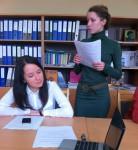 Выступает магистрант Е.Хилова