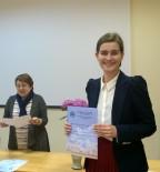 Победитель конкурса докладов среди аспирантов Т.Г. Гусакова