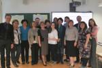 Участники проекта на завершающей визит  встрече