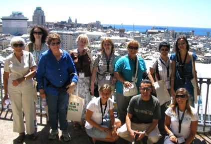 На конференции IALS 2010 в Генуе, Италия