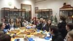 Директор музея Е.М.Колосова приветствует гостей